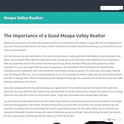 Moapa Valley Realtor