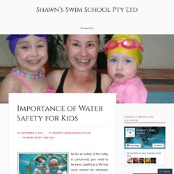 Importance of Water Safety for Kids