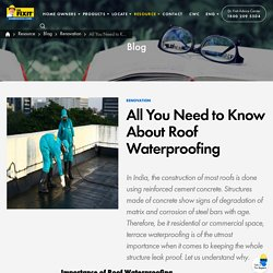 Importance of Roof Waterproofing