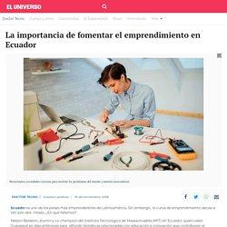 La importancia de fomentar el emprendimiento en Ecuador