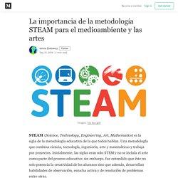 La importancia de la metodología STEAM para el medioambiente y las artes