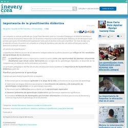 Importancia de la planificación didáctica - Inevery Crea ...