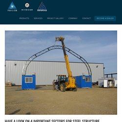 Have A Look On 4 Important Sectors For Steel Structure Application