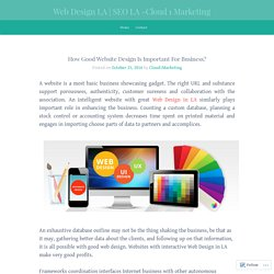 How Good Website Design Is Important For Business?
