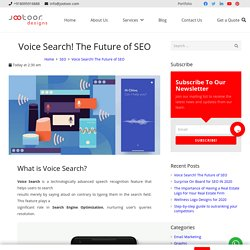 Why Voice Search Is Important for your business