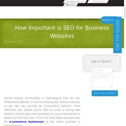 SEO for Business Websites