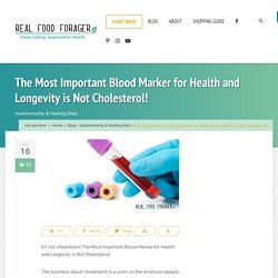 The Most Important Blood Marker for Health and Longevity is Not Cholesterol!