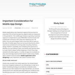 Mobile App Designing Services In Lancaster