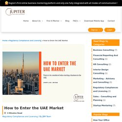 Important points to be considered before starting a business in UAE.