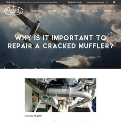 Why Is It Important To Repair A Cracked Muffler?