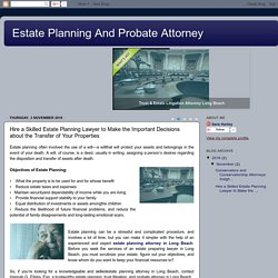 Hire a Skilled Estate Planning Lawyer