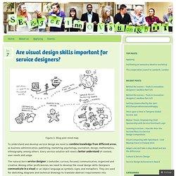 Are visual design skills important for service designers?