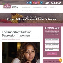 The Important Facts on Depression in Women