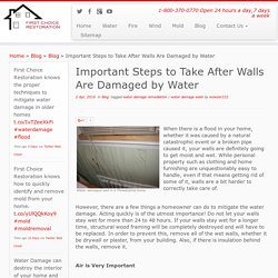 Water Damage Camden County NJ