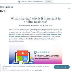 What is kartra? Why is it important in Online Business? – funnelpricing