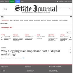 Why blogging is an important part of digital marketing?