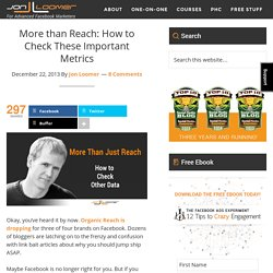 More than Reach: How to Check These Important Metrics