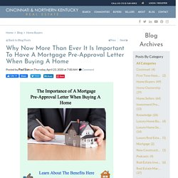 Why During This Time Of COVID19 It Is Critical To Have A Mortgage Pre-Approval