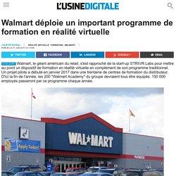 Walmart déploie un important programme de formation en réalité virtuelle