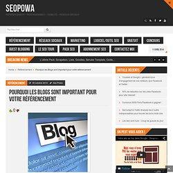 Pourquoi les Blogs sont important pour votre référencement