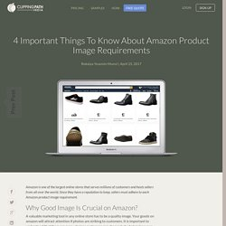 4 Important Things to Know About Amazon Product Image Requirements - Clipping Path India