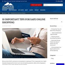 10 Important Tips for Safe Online Shopping