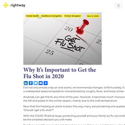 Why It's Important to Get the Flu Shot in 2020 - Rightway