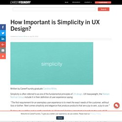 How Important is Simplicity in UX Design?