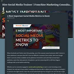5 Most Important Social Media Metrics to Know
