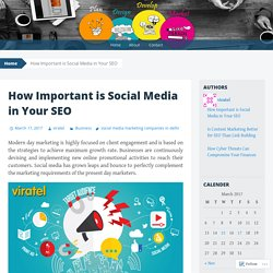 How Important is Social Media in Your SEO