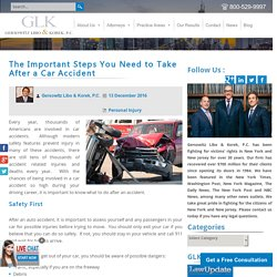 The Important Steps You Need to Take After a Car Accident