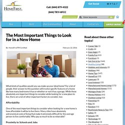 The Most Important Things to Look for in a New Home - Home First Certified