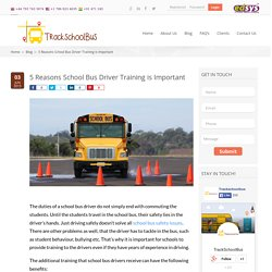 5 Reasons School Bus Driver Training is Important