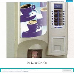 Important uses of a coffee vending machine: – De Luxe Drinks