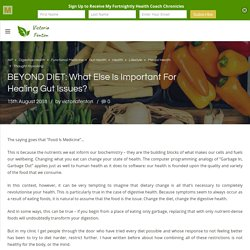 BEYOND DIET: What Else Is Important For Healing Gut Issues? – Victoria Fenton Healthcare