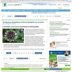 L'artichaut, une source importante d'antioxydants