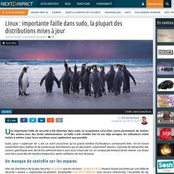 Linux : importante faille dans sudo, la plupart des distributions mises à jour
