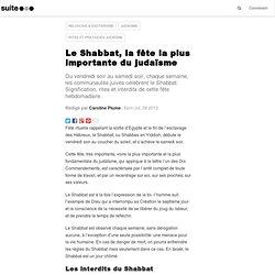 Le Shabbat, la fête la plus importante du judaïsme