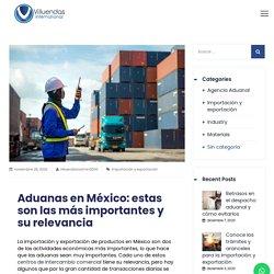 Aduanas en México: estas son las más importantes y su relevancia - Villuendas International