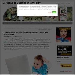 Las opciones de publicidad online más importantes para principiantes
