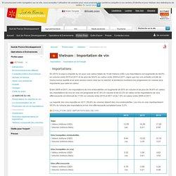 Importation de vin au Vietnam - Vietnam