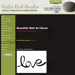 Direct importers of quality landscaping and Garden Products