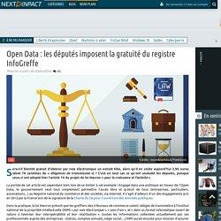 Open Data : les députés imposent la gratuité du registre InfoGreffe