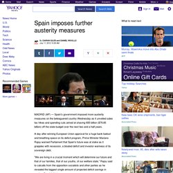 Spain imposes further austerity measures