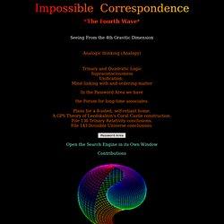 Impossible Correspondance