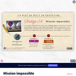 Mission impossible par Historicophiles sur Genially