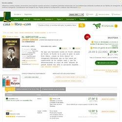 EL IMPOSTOR - JAVIER CERCAS, comprar el libro