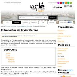 El Impostor de Javier Cercas — Espagnol