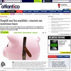 Impôt sur les sociétés : encore un nouveau taux