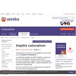 Impots colocation : calcul - Ooreka